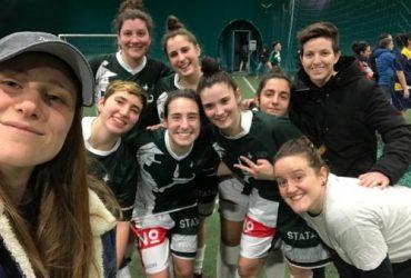 Calcio Femminile, Pizzi-cotte e mangiate, Statale vince