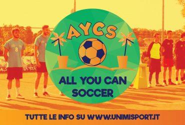 All You Can Soccer 2019 – Tutte le informazioni