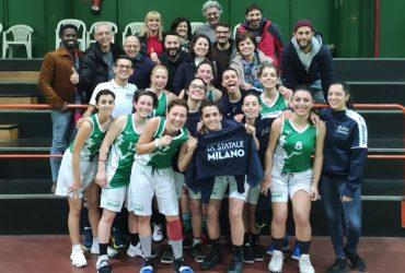 Basket femminile: seconda vittoria consecutiva nel girone Gold UISP