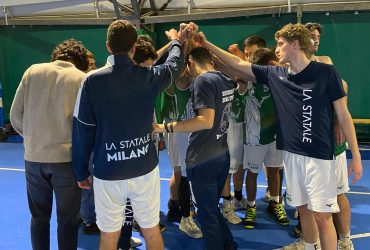 Basket Maschile: la Verde vince all'over time contro Naba, play-off in vista