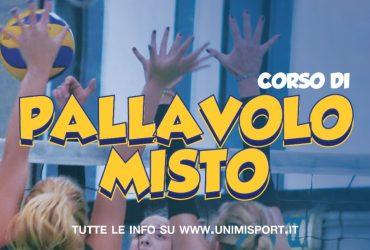BOOM DI ISCRITTI, TUTTI I CORSI DI PALLAVOLO MISTO SOLD-OUT